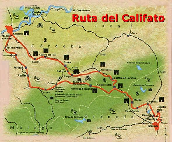 Ruta del califato - Ruta por andalucia ...